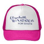 Elizabeth Warren para el casquillo del senado de M Gorros Bordados