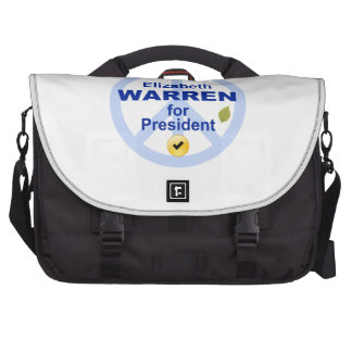 Elizabeth Warren para el presidente Bolsas De Ordenador