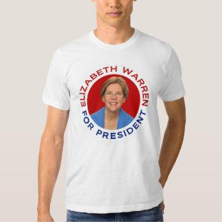 Elizabeth Warren para el presidente Remeras