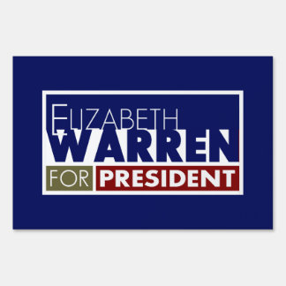 Elizabeth Warren para presidente V1
