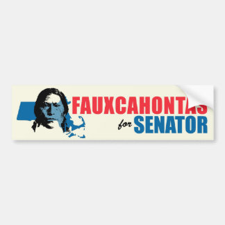 Elizabeth Warren Parody bumper sticker