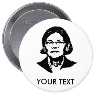 Elizabeth Warren - Pinback Button