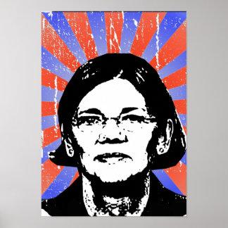 Elizabeth Warren - Póster