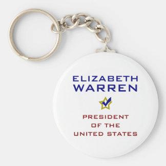 Elizabeth Warren President USA V2 Key Chain