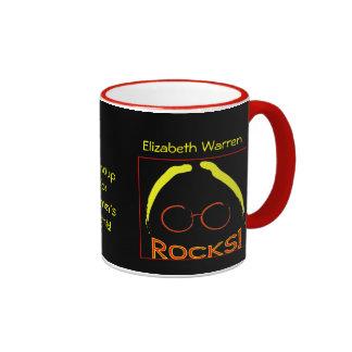 Elizabeth Warren Rocks! mug