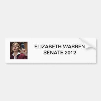 Elizabeth Warren Senate 2012 Bumper Stickers