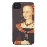 "Elizabeth Woodville ""la reina blanca "" Case-Mate iPhone 4 Protectores"