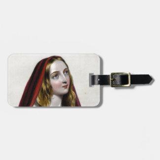 Elizabeth Woodville Luggage Tag