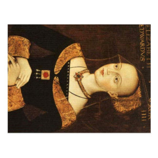 Elizabeth Woodville Postcard