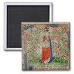 Elizabeth Woodville  Queen Consort of King 2 Inch Square Magnet