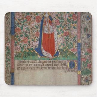 Elizabeth Woodville  Queen Consort of King Edward Mouse Pads