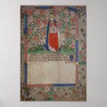 Elizabeth Woodville  Queen Consort of King Edward Poster