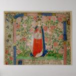 Elizabeth Woodville  Queen Consort of King Poster