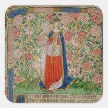 Elizabeth Woodville  Queen Consort of King Square Sticker
