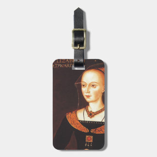 """Elizabeth Woodville """"The White Queen"""" Luggage Tag"""