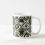 Elizabethan Blackwork tile Coffee Mug