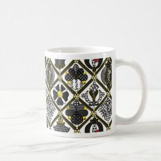 Elizabethan Blackwork tile Coffee Mug
