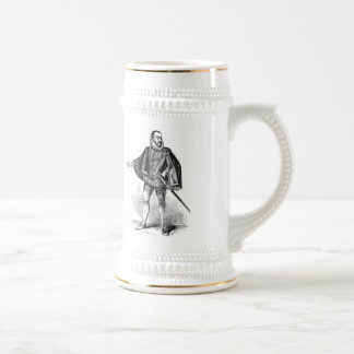 Elizabethan Cothing Beer Stein