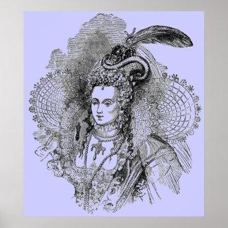 Elizabethan Era - Portrait of Lady Poster