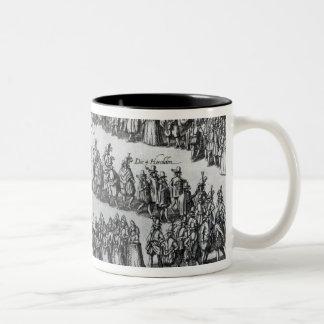 Elizabethan Procession Coffee Mugs