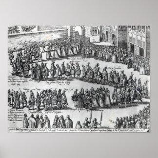 Elizabethan Procession Poster