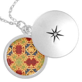 Elizabethan Royale Round Locket Necklace