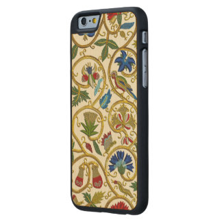 Elizabethan Swirl Embroideries-Goldwork imitation Carved Maple iPhone 6 Case