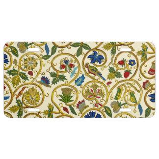 Elizabethan Swirl Embroideries-Goldwork imitation License Plate