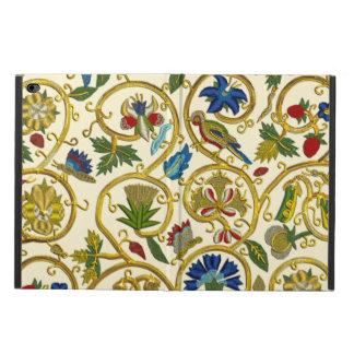 Elizabethan Swirl Embroideries-Goldwork imitation Powis iPad Air 2 Case