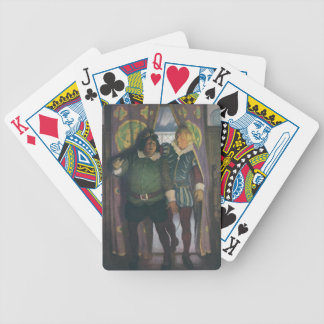 Elizabethans in an Inn Bicycle Playing Cards