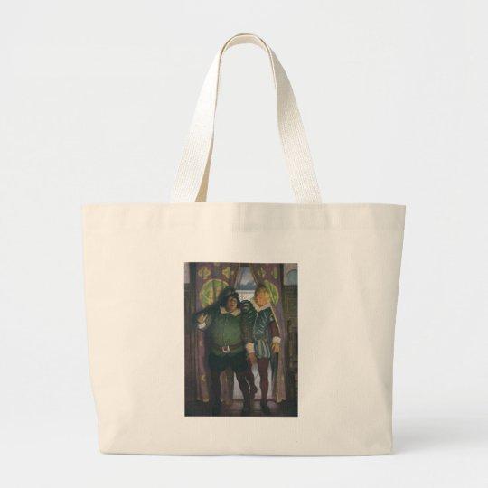 Elizabethans in an Inn Large Tote Bag