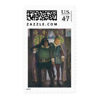 Elizabethans in an Inn Postage
