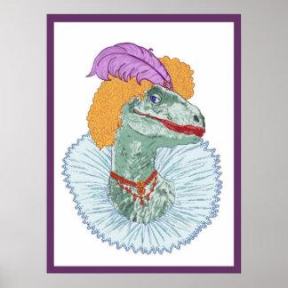 Elizabethasaurus Reginanychus el primer poster