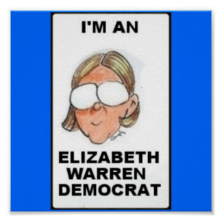 Elizabth Warren Democrat Print