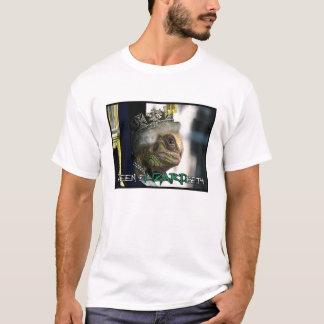 eLIZARDbeth de la reina - camiseta reptil