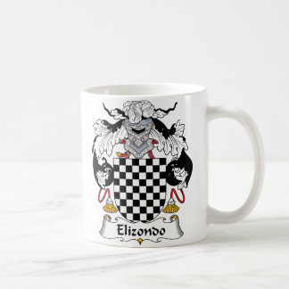 Elizondo Family Crest Mugs
