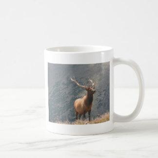 Elk 2 classic white coffee mug