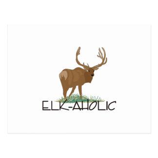 Elk-aholic Postcard