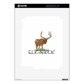 Elk-aholic Decals For iPad 2
