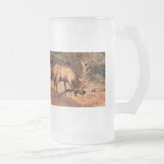 Elk -  An Elk Eating Mug