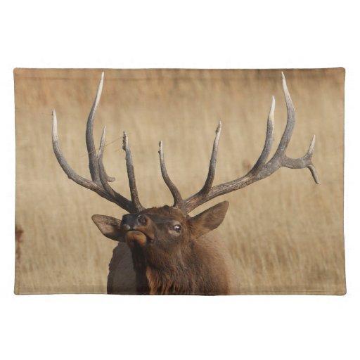 elk and eye bulging place mat