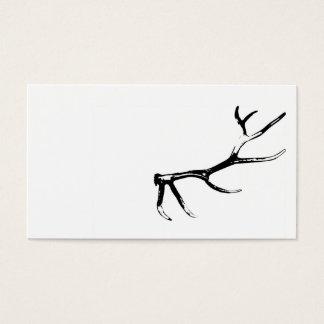 Elk Antler Business Card