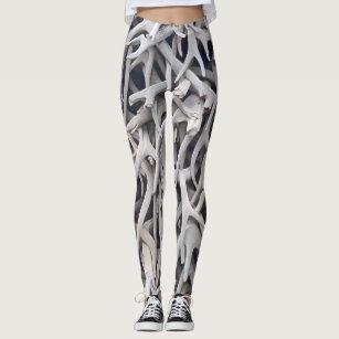 165574403693f2 Women's Antler Leggings | Zazzle