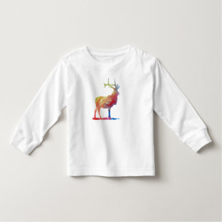 Elk art toddler t-shirt