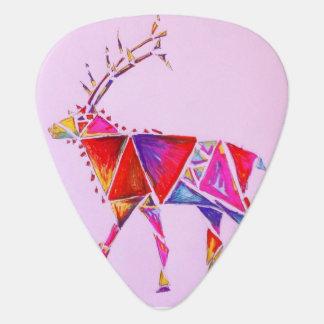 Elk artsy guitar pic guitar pick