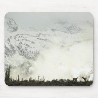 Elk at Grand Teton National Park Photography Mouse Pad