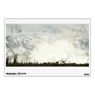 Elk at Grand Teton National Park Photography Wall Sticker