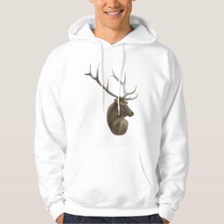 Elk Buck Hooded Sweatshirt