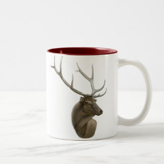Elk Buck Two Tone Mug