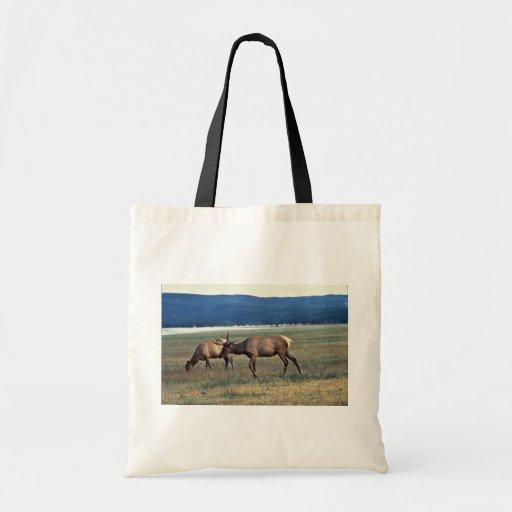 Elk Budget Tote Bag